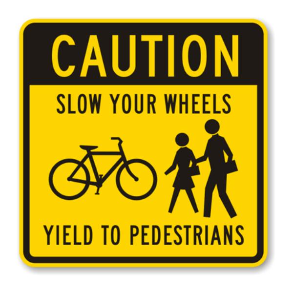 No dar paso a los peatones de cruce de peatones